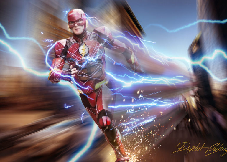 Flash Cosplay Composite